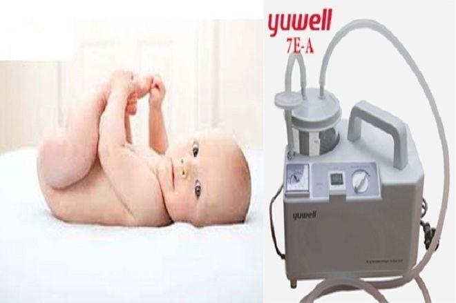 máy hút mũi yuwell an toàn đối với người lớn và trẻ nhỏ