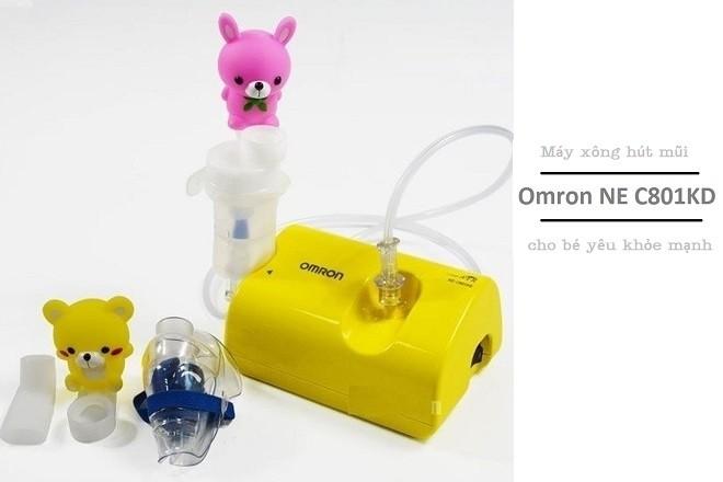 máy hút mũi trẻ em omron