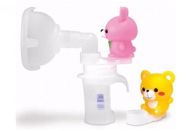 cốc xông máy xông mũi họng trẻ em omron ne c801kd