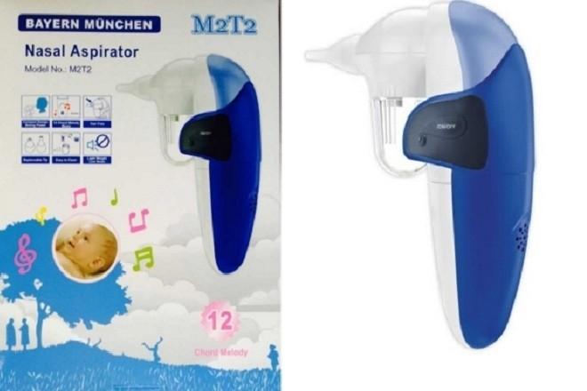 máy hút mũi Bayer Munchen được tích hợp bộ phận phát nhạc