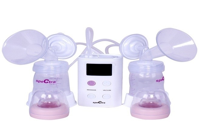 máy hút sữa Spectra 9s cho phép người dùng điều chỉnh áp lực hút tốc độ hút một cách dễ dàng