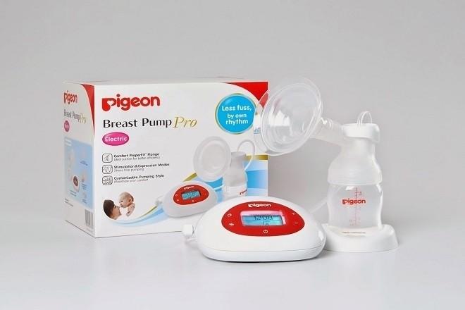 giá máy hút sữa Pigeon Electric Breast Pump Pro tham khảo trên Tiki chỉ có 2790000 VND