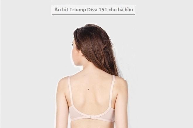 áo lót triumph diva 151 cho bà bầu