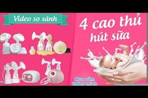 So Sánh 4 Siêu Máy Hút Sữa Tốt Nhất Cho Mẹ - Bibabo.vn