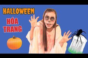 Hóa Trang Thành Ma Halloween 2017 - Cách Làm Trang Phục Ma Zombie Cho Halloween