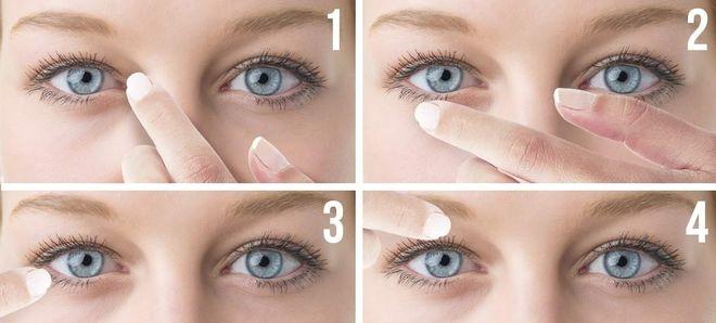 bấm huyệt cho mắt