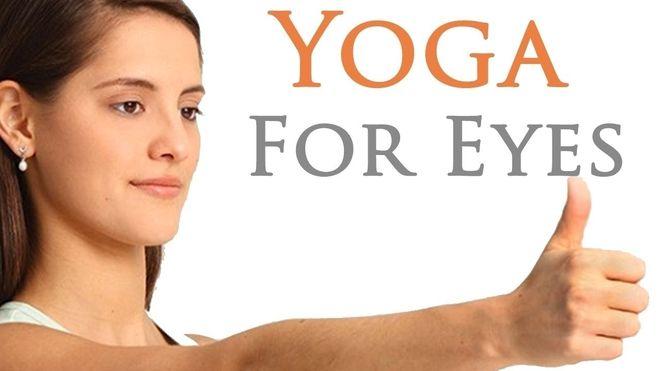 yoga cho mắt