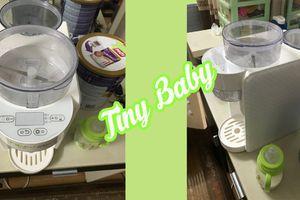 Máy pha sữa bột tự động Tiny Baby của Nhật