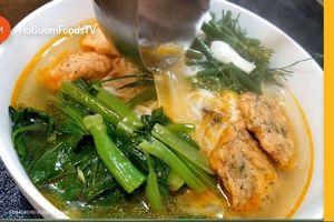 Cách làm bún cá Hà Nội