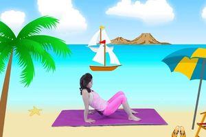 Cách chữa gù lưng cho trẻ với bài tập yoga đơn giản