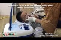 Cách rửa hút mũi cho bé bằng máy xông hút mũi AG Life 2 trong 1