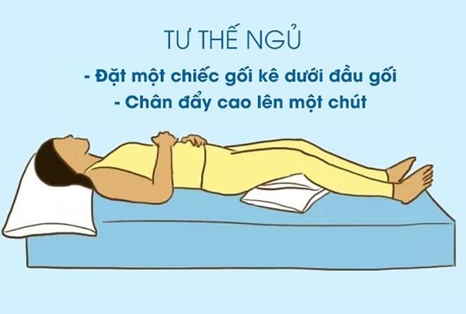 hướng dẫn tư thế ngủ tránh gù lưng