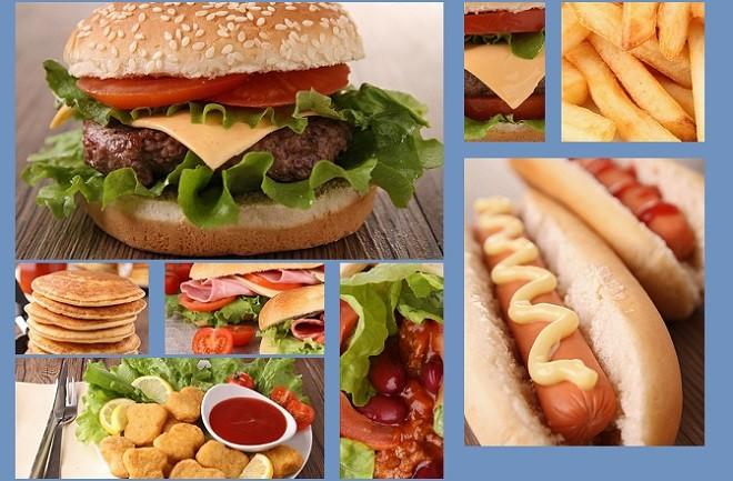 các loại thức ăn nhanh không tốt cho mắt cận