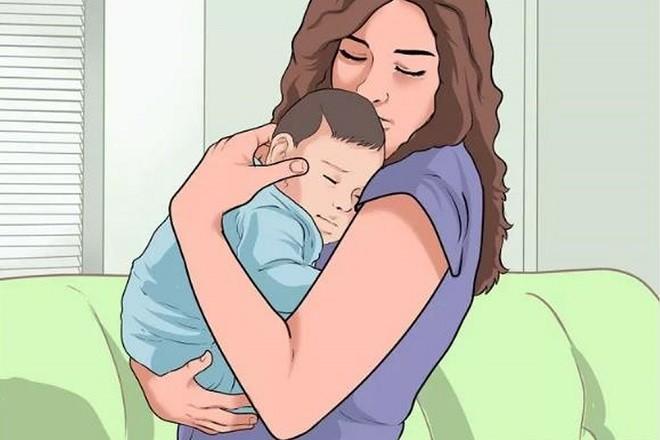 cách bế bé sơ sinh đúng chuẩn