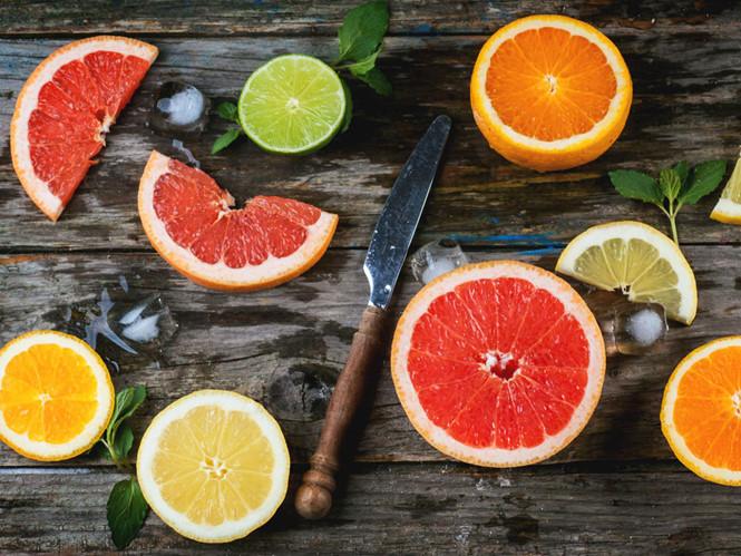 Họ nhà cam quýt giàu vitamin C
