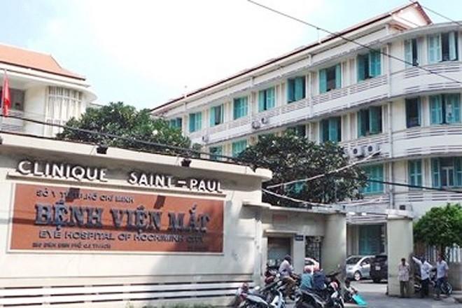 bệnh viện mắt sài gòn saint paul