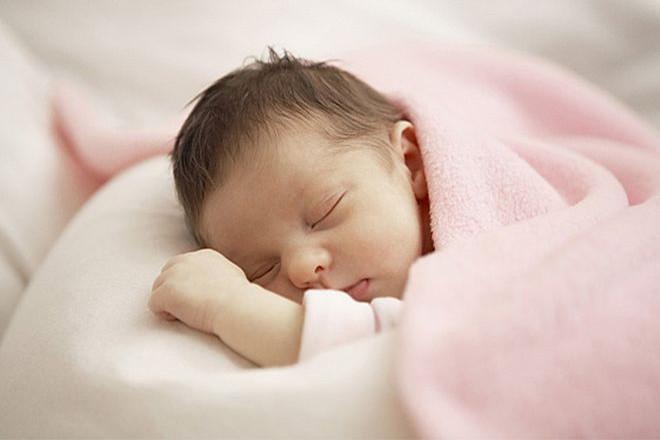 Nhiệt độ trung bình của trẻ sơ sinh