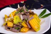 Cách làm bí đỏ xào thịt bò đơn giản mà cực ngon