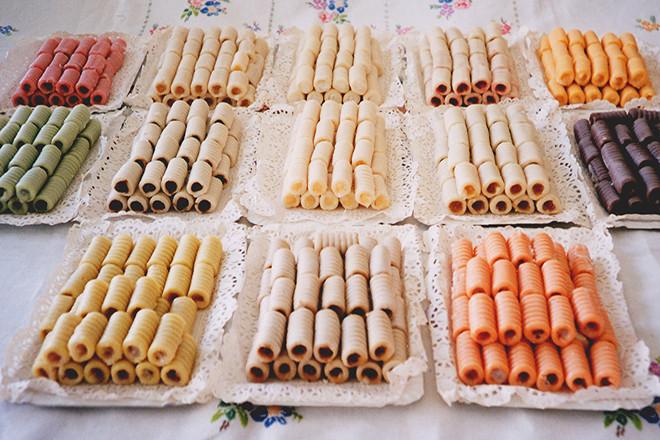 Bánh Huesos de santo Tây Ban Nha