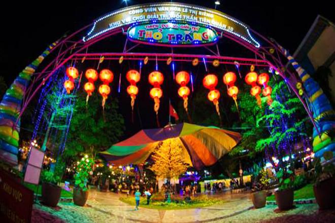 Halloween 2018 Khu vui chơi Thỏ Trắng Công viên Lê Thị Riêng Sài Gòn