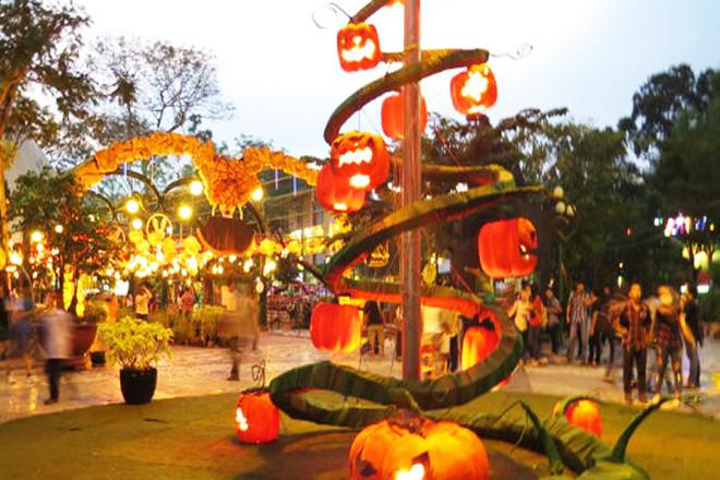 Halloween 2018 Công viên Đầm Sen Sài Gòn