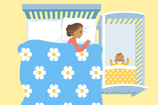 Giấc ngủ an toàn cho trẻ