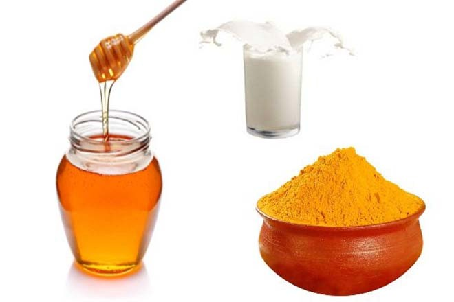 Nghệ mật ong và sữa
