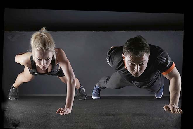 Tập thể dục nặng