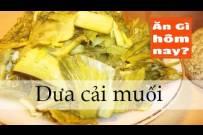 Cách muối dưa cải giòn chua ngon
