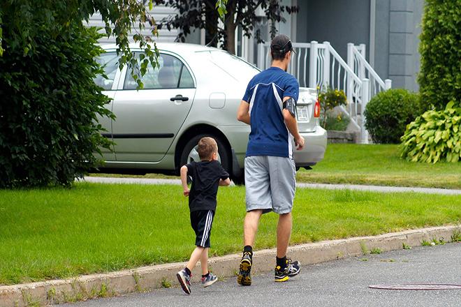 Chạy bộ   bài tập tuyệt vời cho sự phát triển chiều cao ở trẻ.
