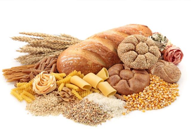 thực phẩm nhiều tinh bột