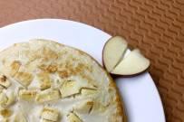 Pancake táo cho bà bầu