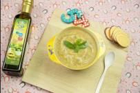 Cách nấu cháo gan gà khoai lang cho bé
