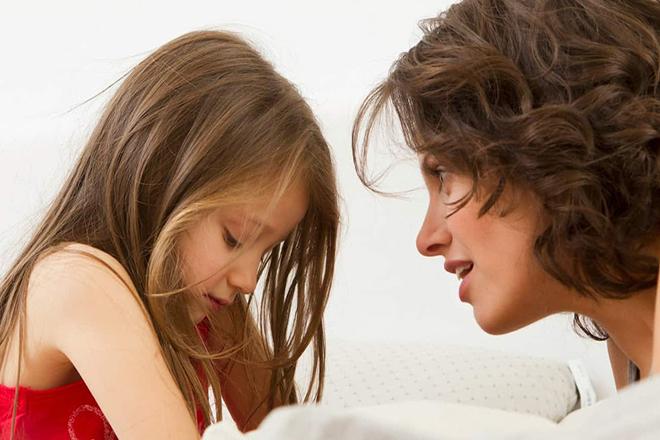 Đừng phạt la trẻ khi con