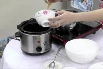 Cách nấu cháo cật heo đậu Hà Lan cho bé