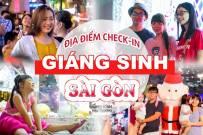 Địa điểm check-in cực chất Noel 2018 tại Sài Gòn