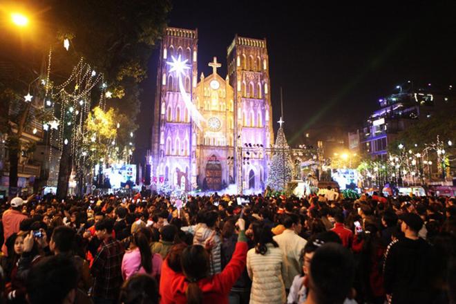 Nhà thờ Lớn Hà Nội Noel 2018