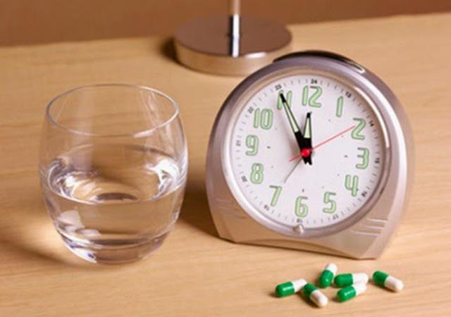 Chia thuốc để uống dần trong ngày