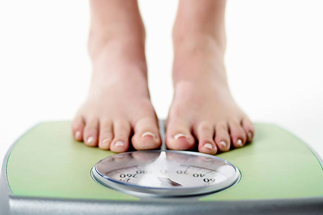 Kiểm soát cân nặng.