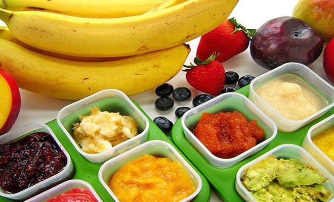 Thực phẩm cho bé ăn dặm theo kiểu Nhật phong phú