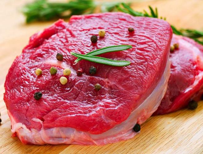 Lượng thịt vừa đủ hỗ trợ cho sự phát triển của bé
