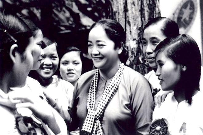 Nữ tướng Nguyễn Thị Định