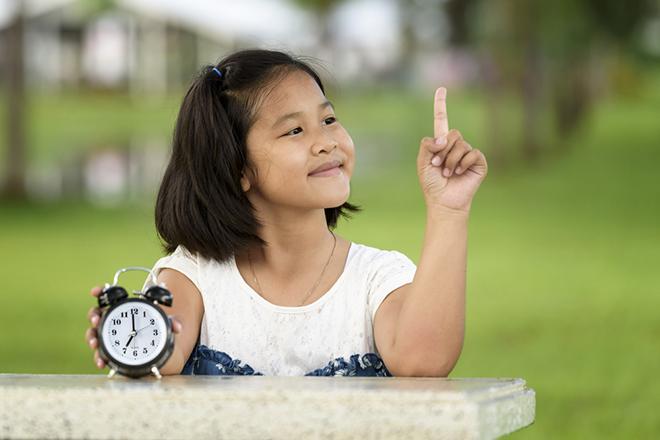 Trẻ học được cách sắp xếp thời gian