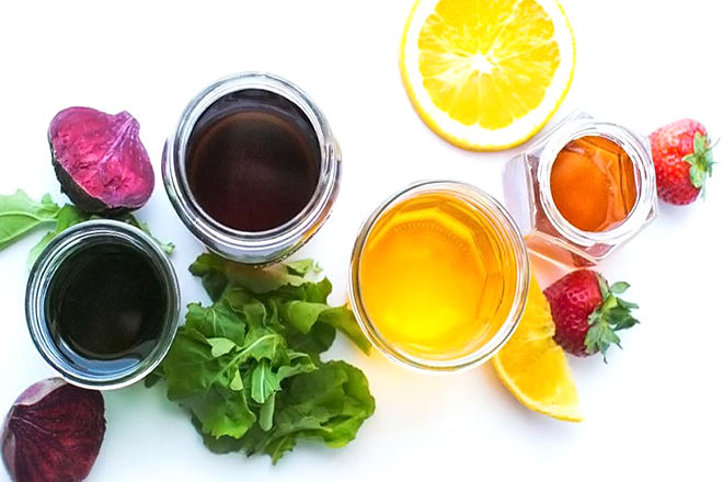 Màu từ rau củ quả
