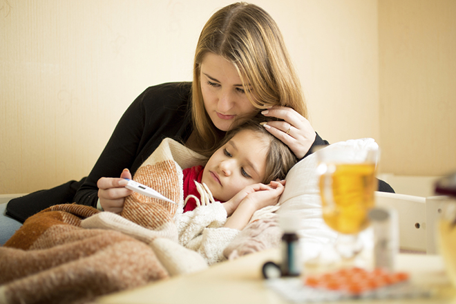 Chăm sóc trẻ bị bệnh sởi
