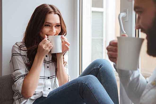 Thư giãn uống trà