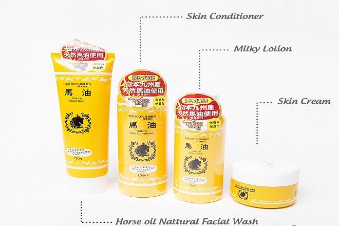horse oil natural skin cream cham soc da