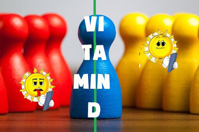 Thiếu vitamin D và kháng vitamin D là khác nhau