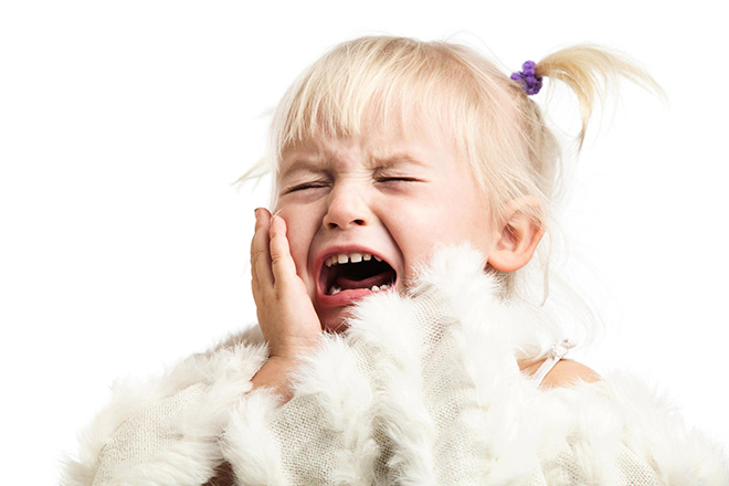 Trẻ giận dữ
