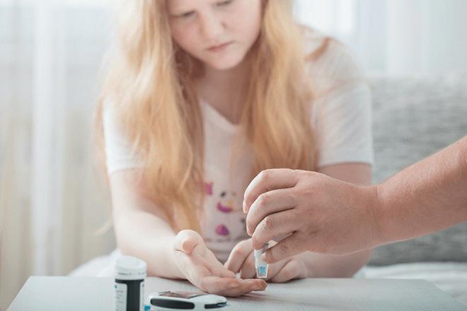 Trẻ bị tiểu đường type 2